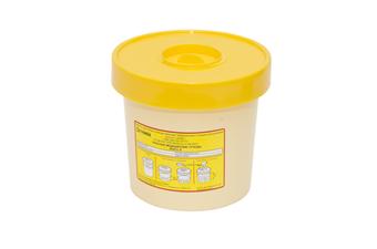 """ЕСО-01 """"ЕЛАТ"""" Емкость для сбора колюще-режущих мед.отходов"""
