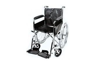 Кресло-коляска инв. серия 1600 (1618С0102SP) пневматическая со спицами (кожзаменитель)