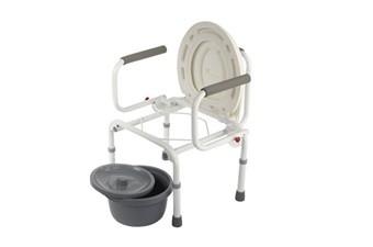 Кресло-туалет (без колес) серии WC Delux