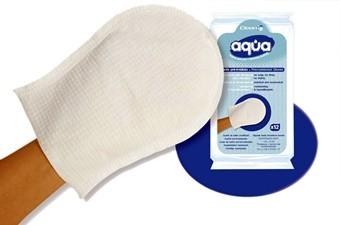 Руковицы гигиенические для мытья волос Aqua Shampoo (1 уп. х 12 шт.)