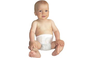 ГП-001 Бандаж грыжевой пупочный универсал. детский до 3 лет, бежевый