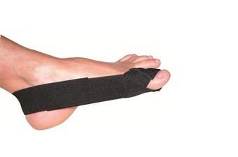 HV-01 Бандаж для большого пальца стопы, черный, универсал.