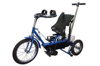 Велотренажёр-велосипед реабилитационный «Ангел-СОЛО» №3 (для детей)