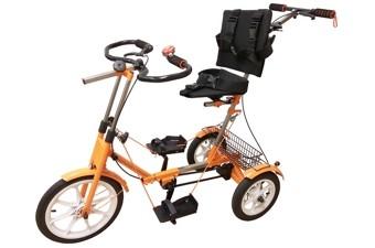 Велотренажёр-велосипед реабилитационный «Ангел-СОЛО»3М (длина ноги от пятки до паха 40-60 см)