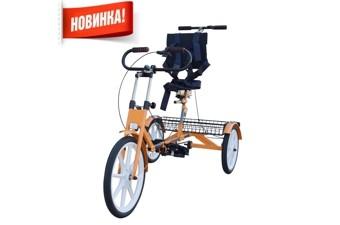 Велотренажёр-велосипед реабилитационный «Ангел-СОЛО» 4М (длина ноги от пятки до паха 50-90 см)