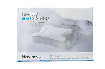 Наволочка 100% Tencel для подушки Beauty Sleep (волокно эвкалипт)