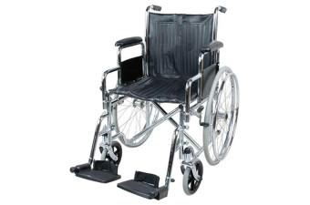 Кресло-коляска инв. Barry B5 (1618С0303SP) пневматическая со спицами (кожзаменитель)